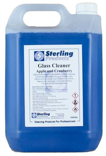 Glass Cleaner Apple & Cranberry