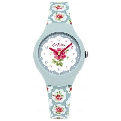 Cath Kidston Provence Rose Blue Silicone Strap Watch