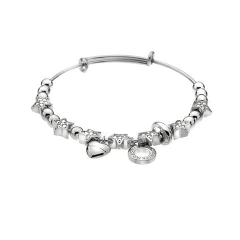 Crystal Star Bangle from the Emozioni collection