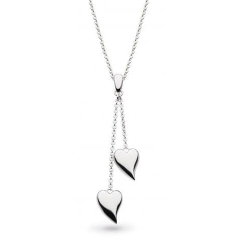"""Desire Forever Lust Heart Lariat 18"""" Necklace"""