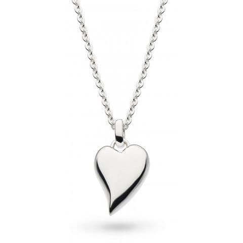 """Desire Forever Lust Heart Rounded 18"""" Necklace"""
