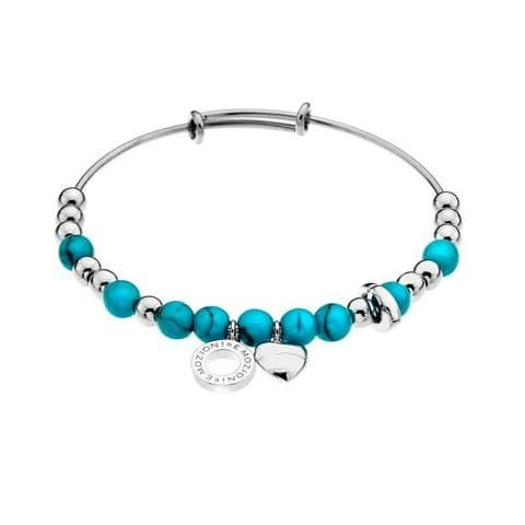 Faux Turquoise Bangle from the Emozioni collection