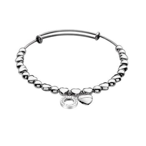 Heart Bangle from the Emozioni collection