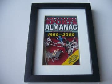 Back to the Future Greys Sports Almanac 3D Diorama Shadow Box Art