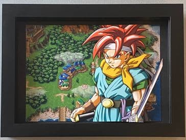 Chrono Trigger World Map 3D Diorama