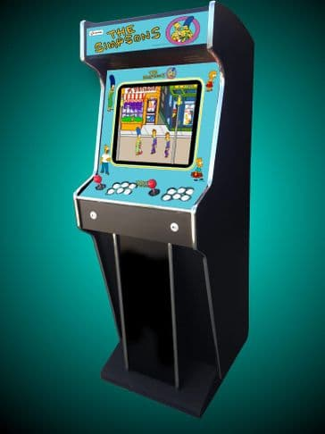 Full Size THE SIMPSONS Home Arcade Machine
