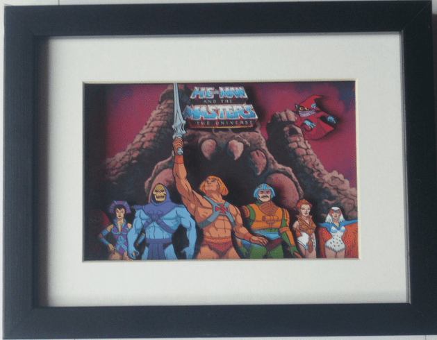 He-Man Master of the Universe 3D Diorama Shadow Box Art