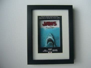 Jaws 3D Movie Poster Diorama Shadow Box Art