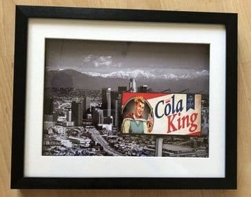 "L.A. Noire ""Cola King"" 3D Art Diorama"