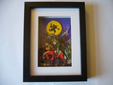 Legend of Zelda Majoras Mask 3D Diorama Shadow Box