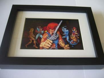 Thundercats 3D Diorama Shadow Box Art