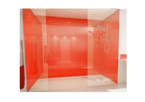 Mermaid Acrylic 3 Wall Shower Recess Kit