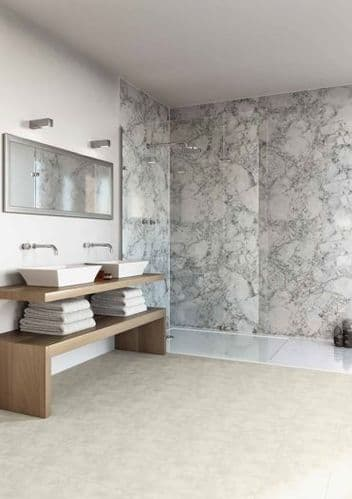 Multipanel - Classics Wall Panels Pack C - For Large Shower Encs, Walk in's or Baths up to 2400mm