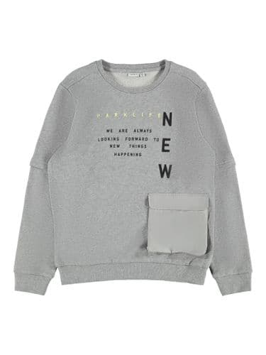 Danas Kids LS Sweat Grey