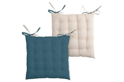 Duo Chair Pad Teal
