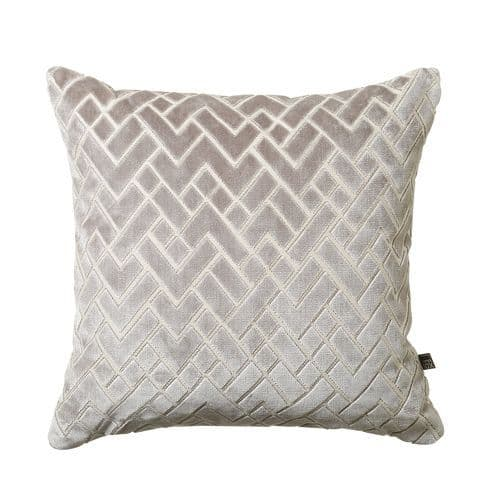 Facture Cushion 45cm x 45cm Cushion Grey 3pt902