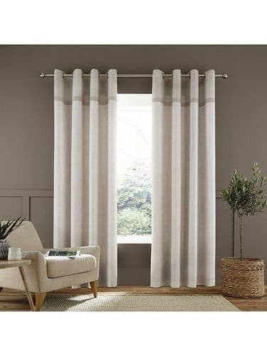 Melville woven curtains