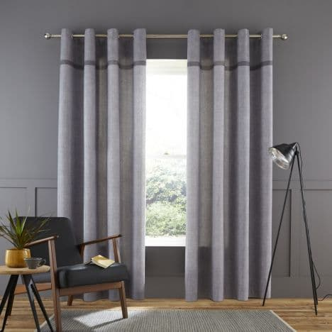 Melville1 woven curtains