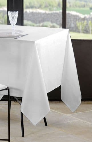 Nelson Table Cloth White