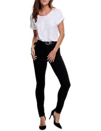 Rain regular skinny jeans  black