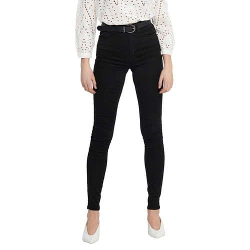 Royal High Waist skinny jean black