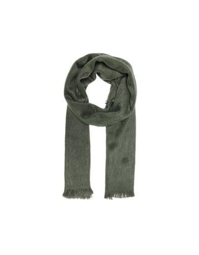 Trade Hairy Woven Scarf Forest