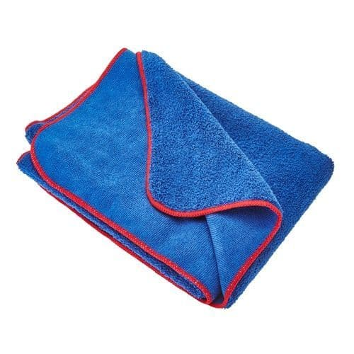 Gtechniq MF2 Zero Scratch Microfibre Blue Fluffy Drying Towel