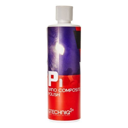 GTechniq P1 Nano Composite Polish 500ml Detailing Car Bike Carbon Fibre