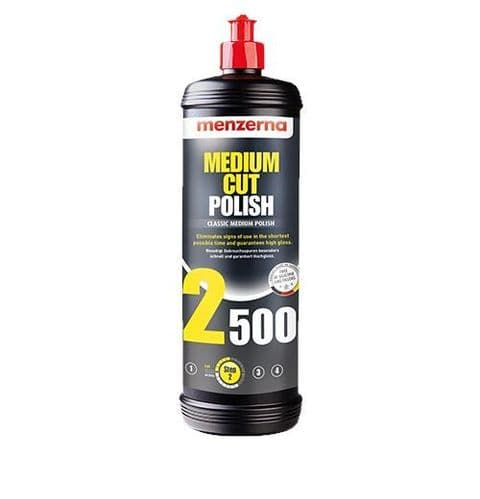 Menzerna 2500 Medium Cut Polish 1 Litre