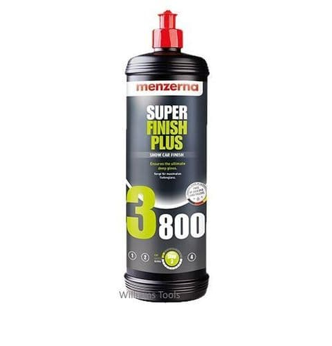 Menzerna 3800 Super Finish Fine Polish 1 Litre