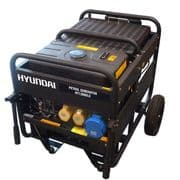 Hyundai 9.5kW Single Phase Electric Start Petrol Generator HY12000LE