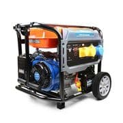 P1PE 8kW / 10kVA* Recoil & Electric Start Site Petrol Generator P10000LE