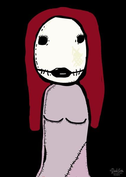 Salad Fingers Marjory A3 Poster
