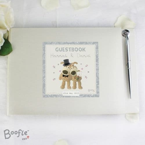 Boofle Wedding Guest Book & Pen