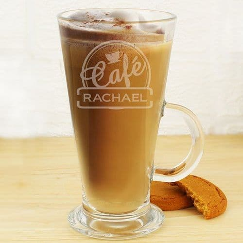 Cafe Latte Glass