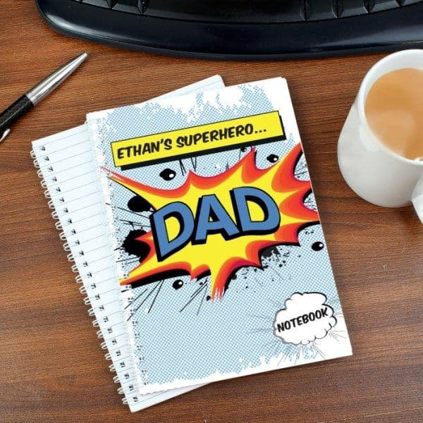 Comic Book Themed A5 Notebook