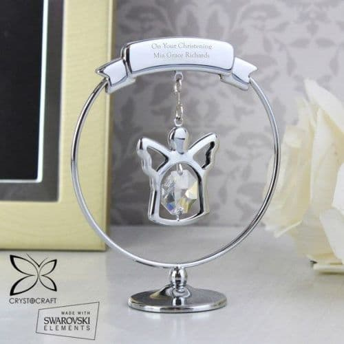 Crystocraft Angel Ornament