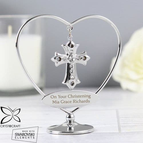 Crystocraft Cross Ornament