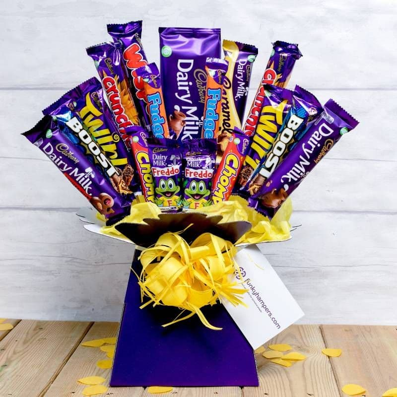 Deluxe Cadburys Chocolate Bouquet
