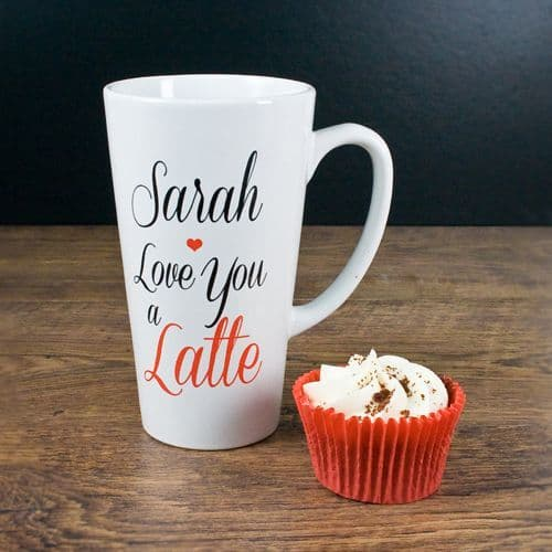 I Love You A Latte, Latte Mug