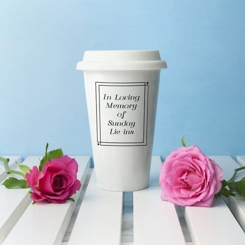 In Loving Memory Ceramic Travel Cup