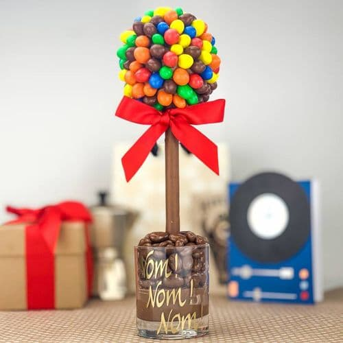 Personalised M and M's Sweet Tree