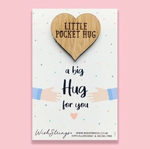 Pocket Hug Heart Keepsake Token