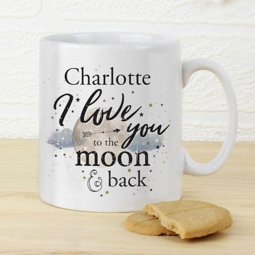 To the Moon & Infinity... Mug