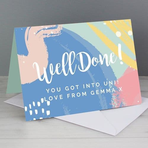 Well Done! Card