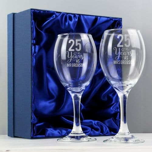 Years As... Wine Glass Set