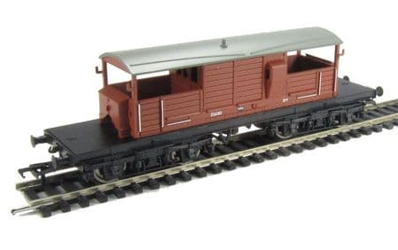Bachmann Queen Mary Brake Van BR Bauxite Like New