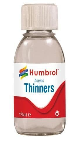 Humbrol Acrylic Thinners 125 ml