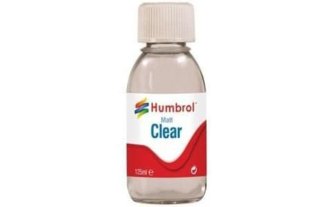 Humbrol Clear Matt 125ml