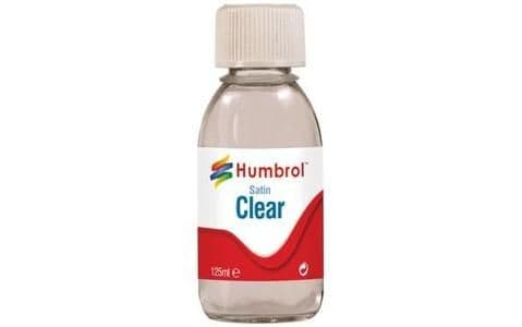 Humbrol Clear Satin 125ml
